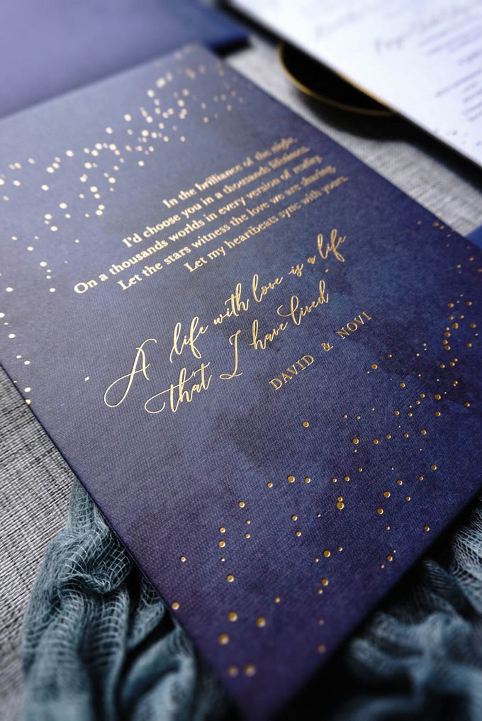 Starry Night by Trouvaille Invitation - 001