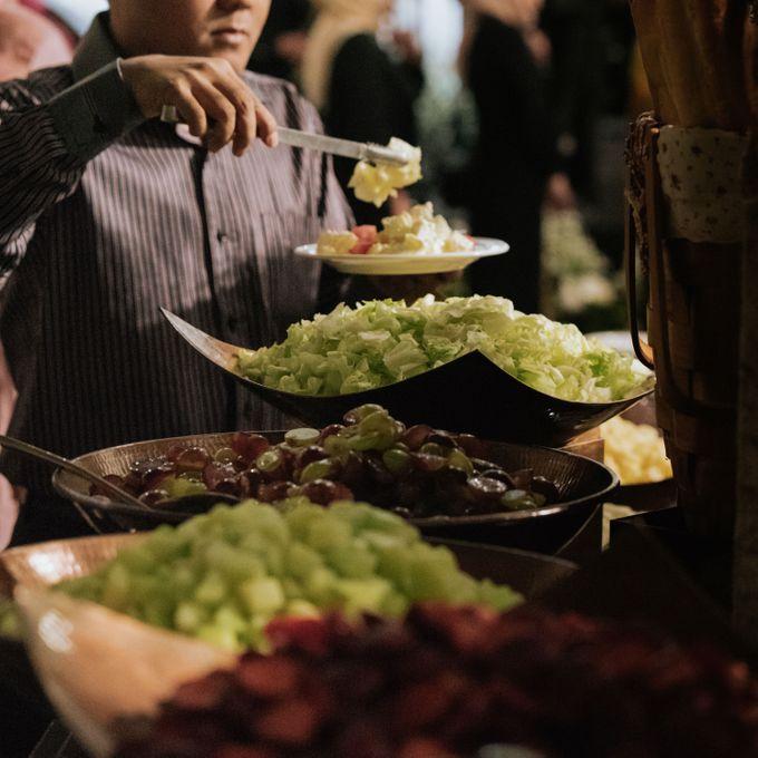 Wedding of Ghafiq & Nenes by Minity Catering - 030
