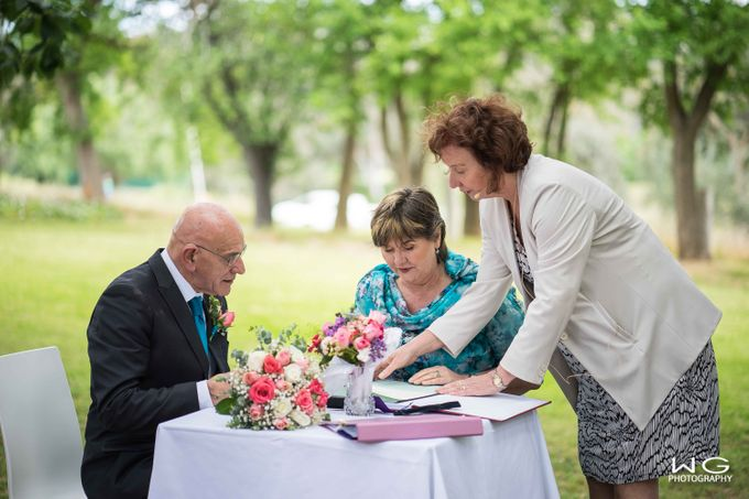 Wedding of Kate & Alex by WG Photography - 005