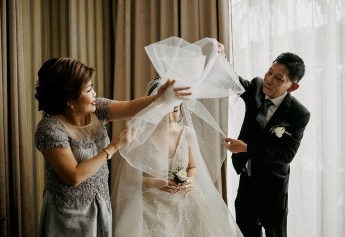 Wedding Day of  Albert & Connie by KIN Moments - 026