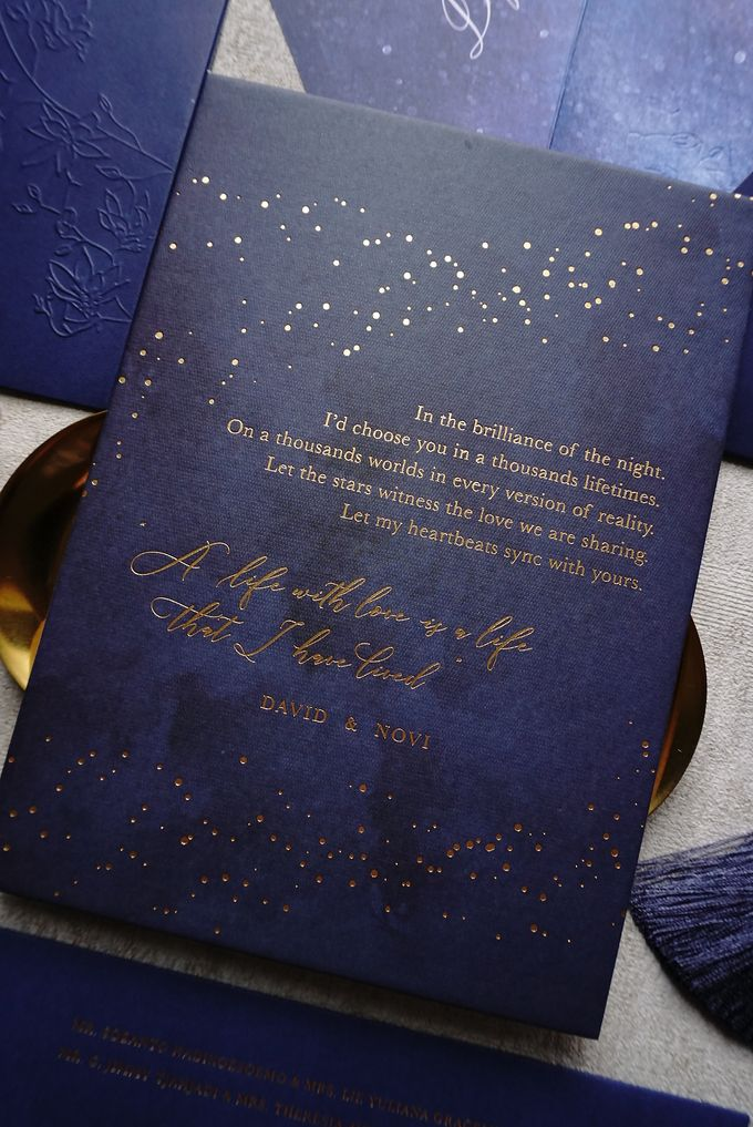Starry Night by Trouvaille Invitation - 014