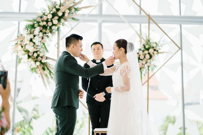 The Wedding of Calvin & Ling ling by Bali Yes Florist - 015