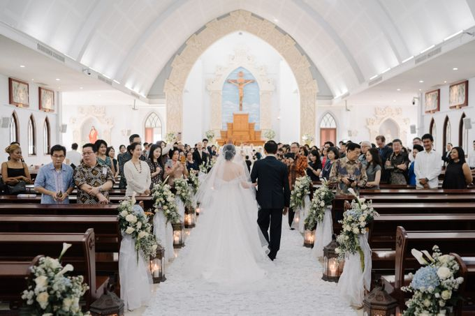 The Wedding Of Alexander & Veriana by Hilton Bali Resort - 031