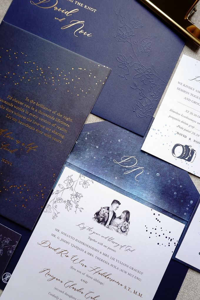 Starry Night by Trouvaille Invitation - 016