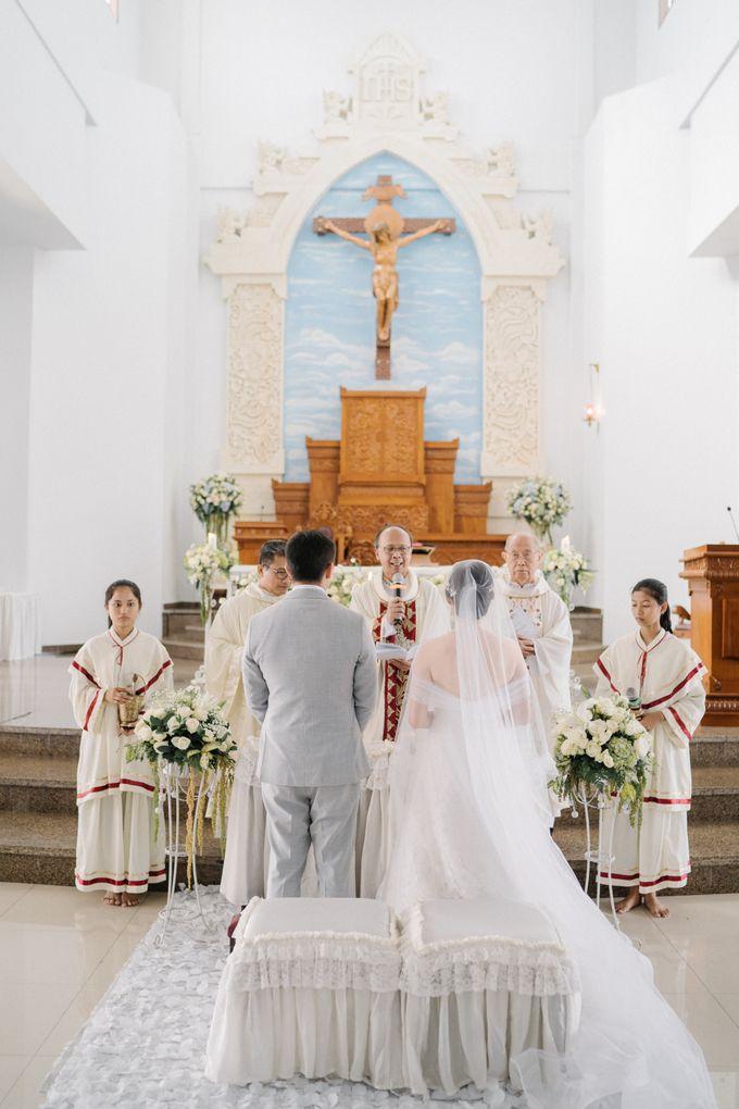 The Wedding Of Alexander & Veriana by Hilton Bali Resort - 032
