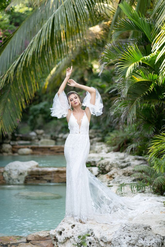 Alona dress by GAËTA Bridal Couture - 006