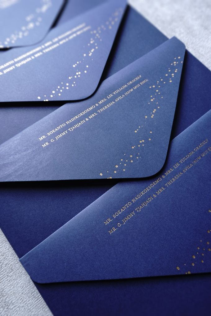 Starry Night by Trouvaille Invitation - 017