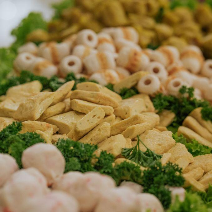 Wedding of Ghafiq & Nenes by Minity Catering - 007
