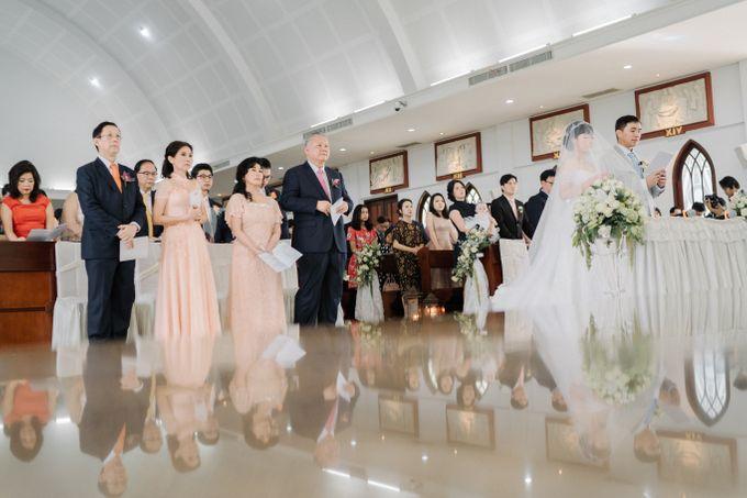 The Wedding Of Alexander & Veriana by Hilton Bali Resort - 033