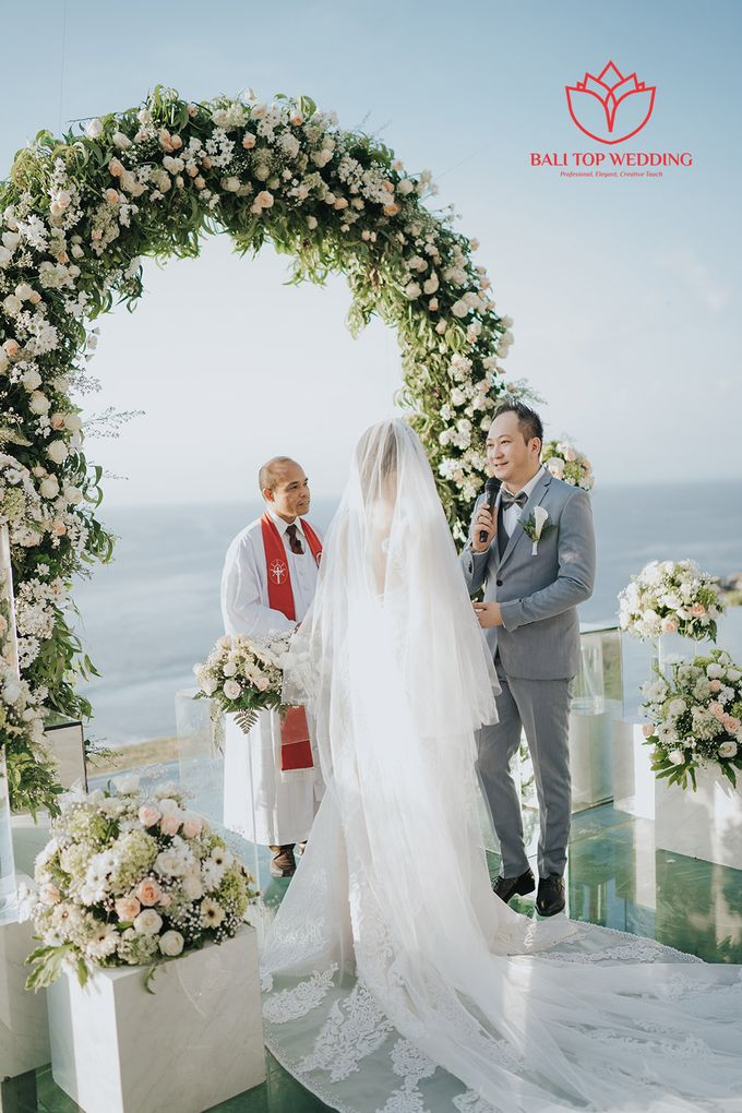 Love, Faith, and Future by Bali Top Wedding - 009