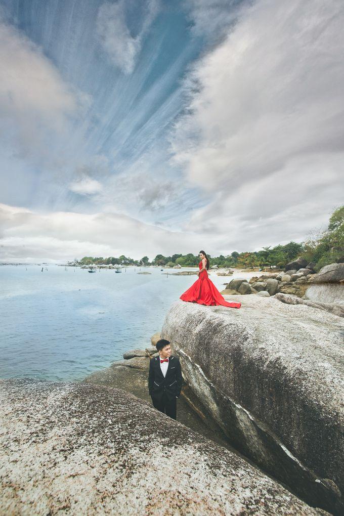 Belitung Prewedding of Ferderiko & Nathalia by GoFotoVideo - 002