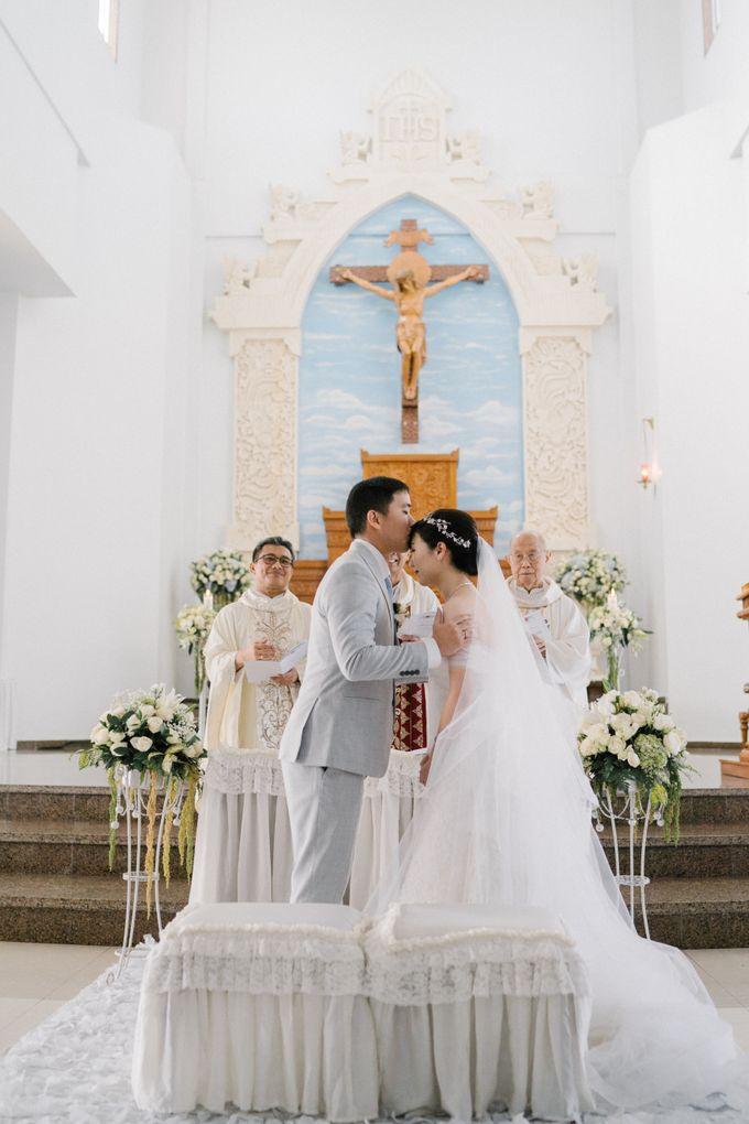 The Wedding Of Alexander & Veriana by Hilton Bali Resort - 034