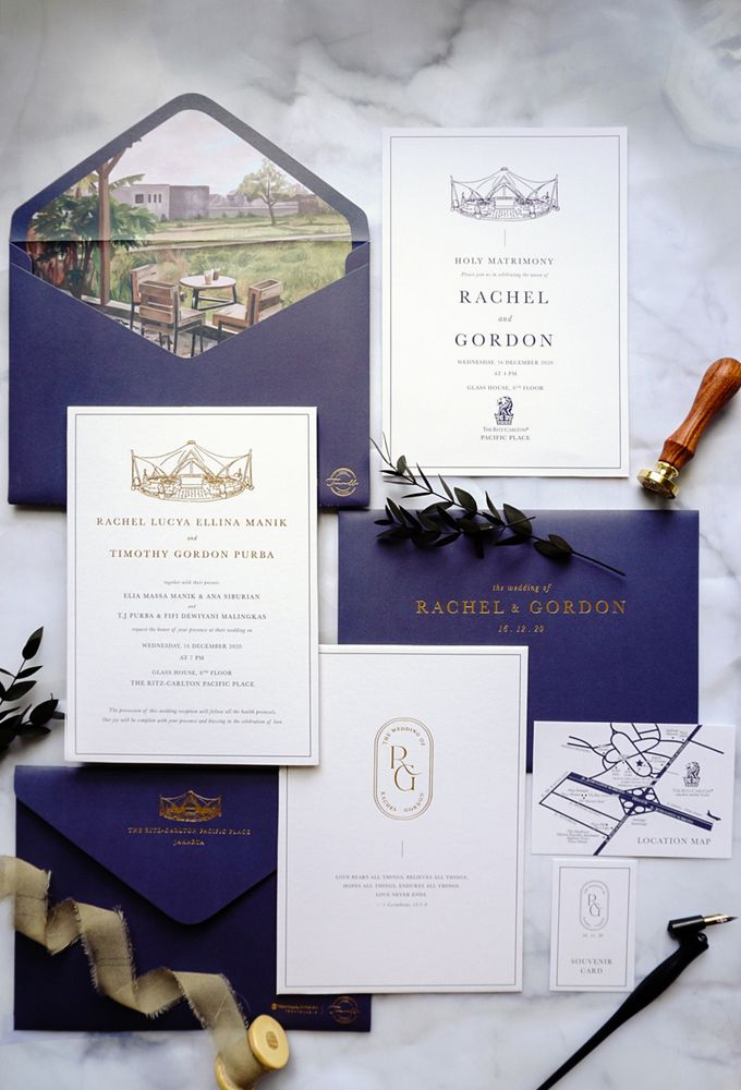 Simple Elegance by Trouvaille Invitation - 001