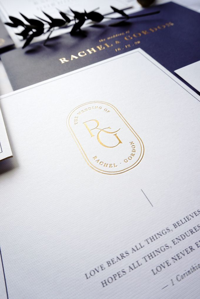 Simple Elegance by Trouvaille Invitation - 002