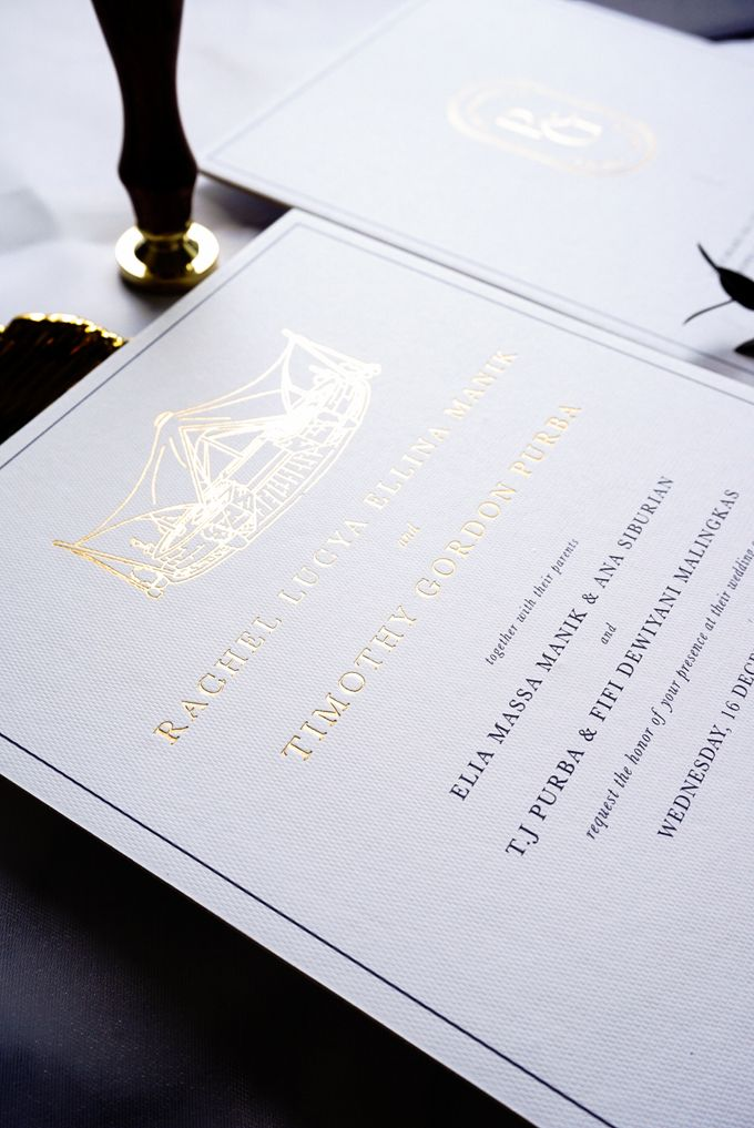 Simple Elegance by Trouvaille Invitation - 006