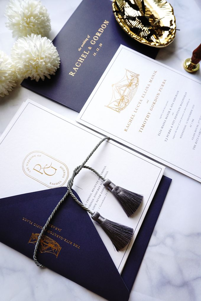 Simple Elegance by Trouvaille Invitation - 009