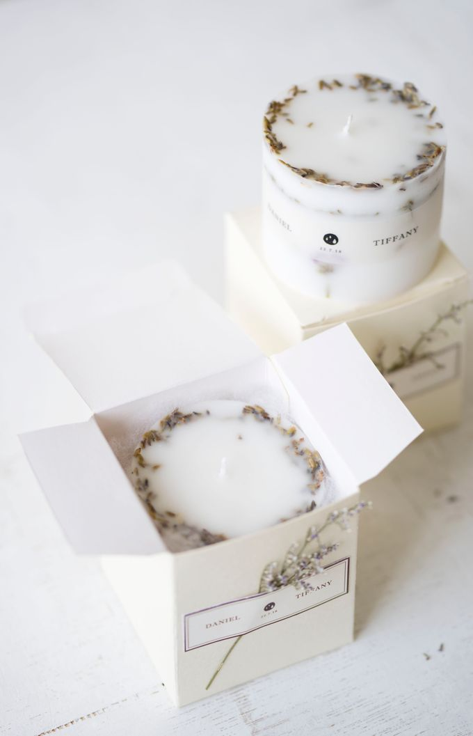 Botanical Candle S | Packaging: Soft Box by Kaminari - 001
