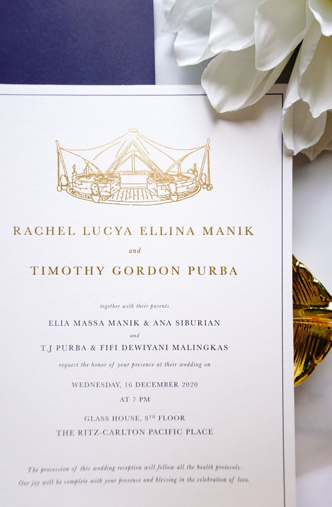 Simple Elegance by Trouvaille Invitation - 017