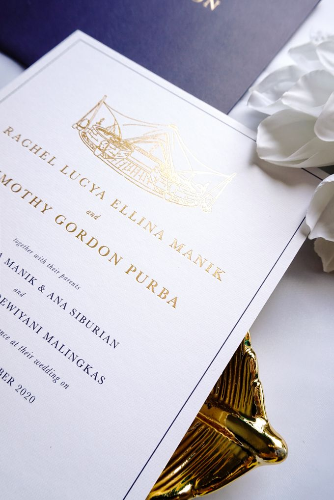 Simple Elegance by Trouvaille Invitation - 014