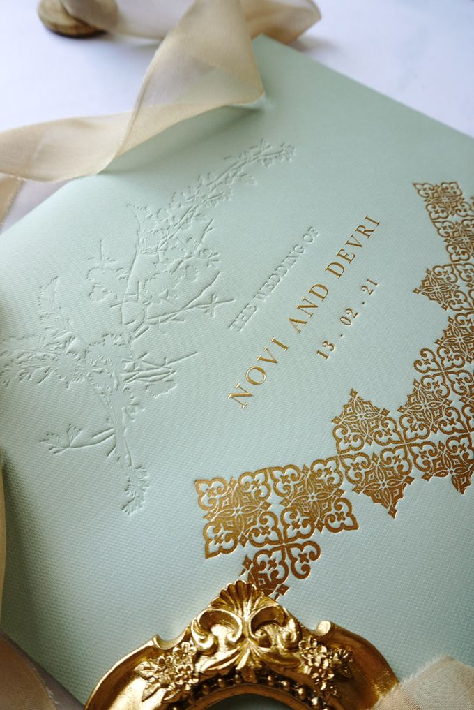 Foliage Morrocan by Trouvaille Invitation - 002
