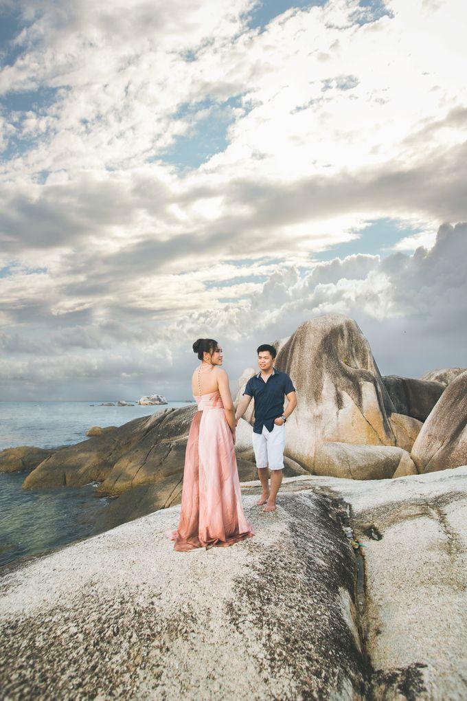 Belitung Prewedding of Ferderiko & Nathalia by GoFotoVideo - 004