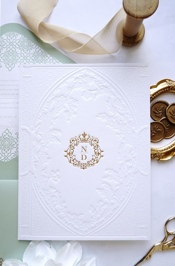 Foliage Morrocan by Trouvaille Invitation - 003