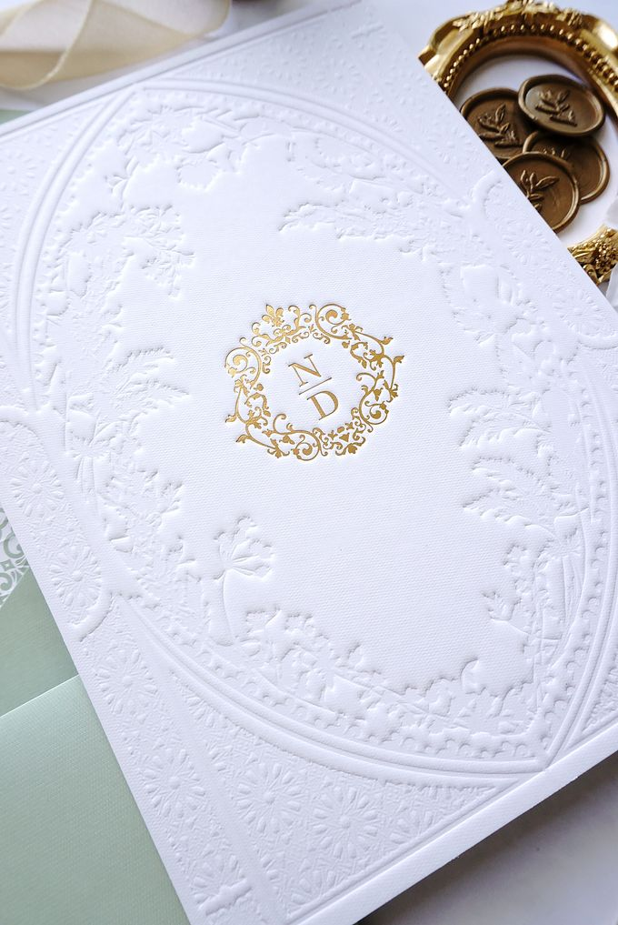 Foliage Morrocan by Trouvaille Invitation - 006