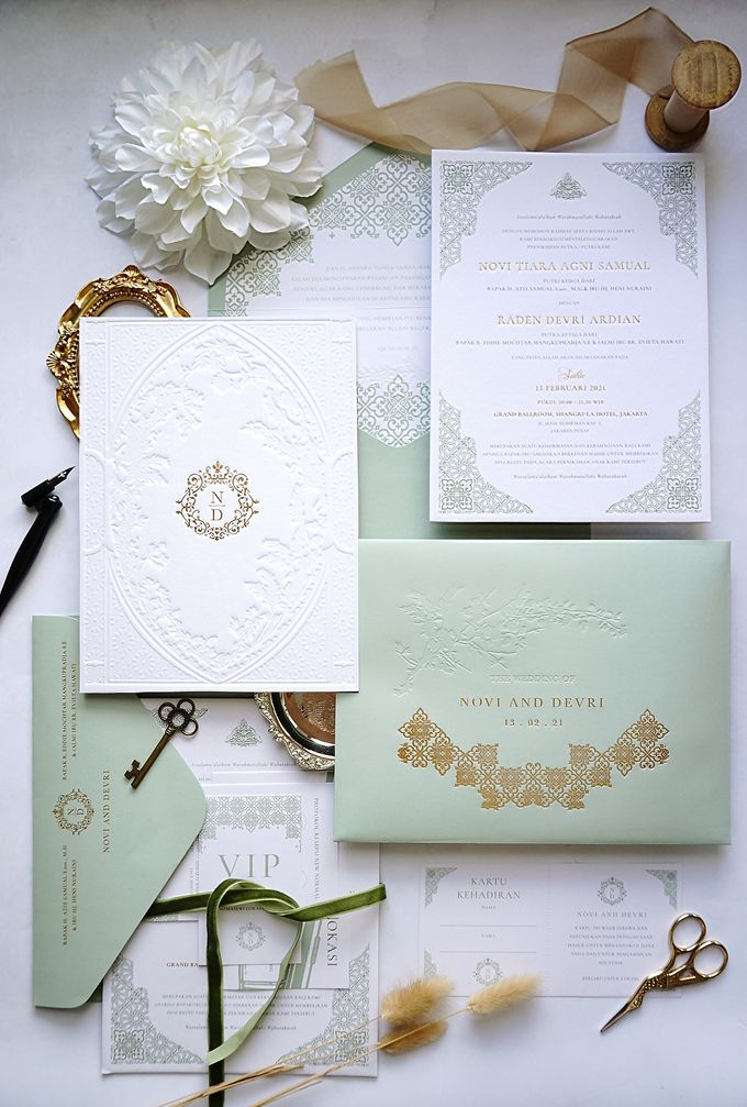 Foliage Morrocan by Trouvaille Invitation - 004