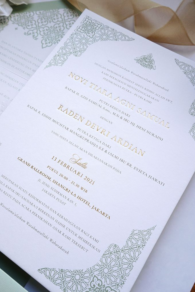 Foliage Morrocan by Trouvaille Invitation - 008