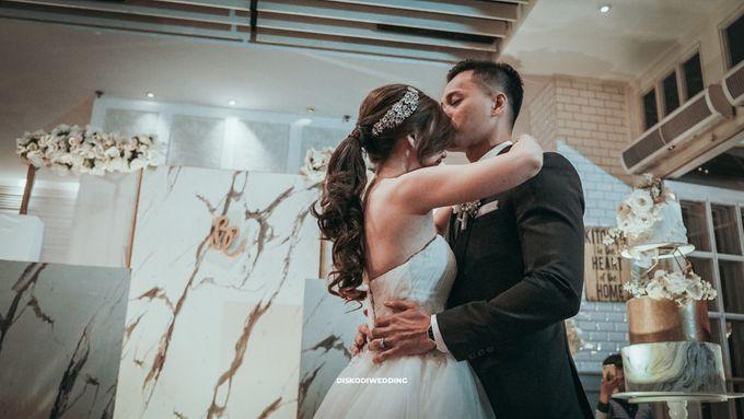 Wyl's Kitchen| Intimate Wedding Budi & Chintya by diskodiwedding - 009