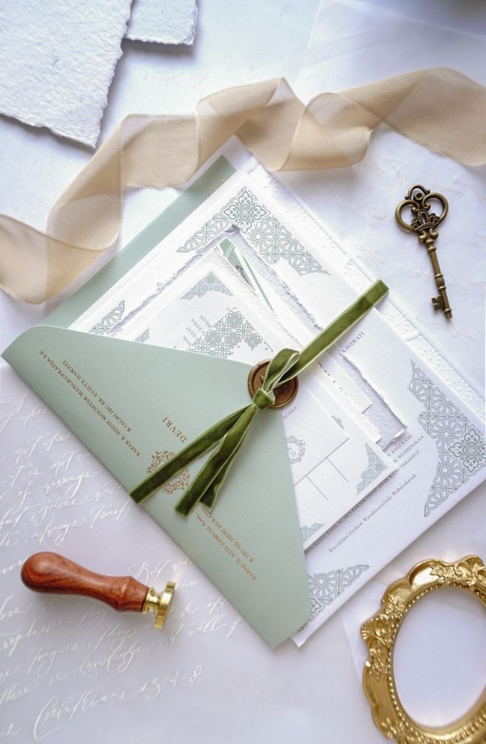Foliage Morrocan by Trouvaille Invitation - 007