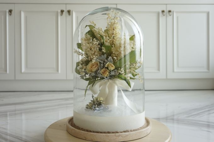 A Bouquet Of Lily of the Valley and Hyacinthus by CONSERVÉ FLOWER PRESERVATION - 001