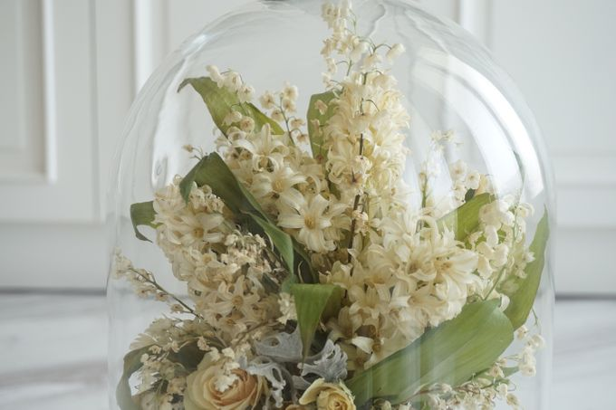 A Bouquet Of Lily of the Valley and Hyacinthus by CONSERVÉ FLOWER PRESERVATION - 003