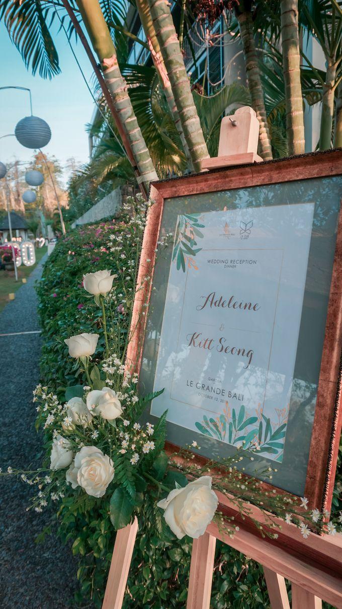 Adeline & Kitt Wedding Reception Dinner by Le Grande Bali Uluwatu - 001