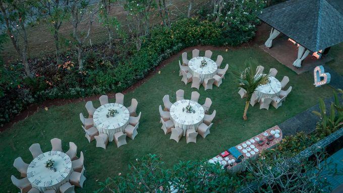 Adeline & Kitt Wedding Reception Dinner by Le Grande Bali Uluwatu - 002