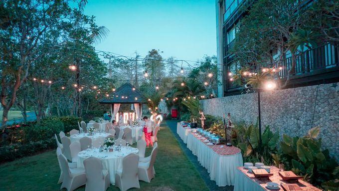 Adeline & Kitt Wedding Reception Dinner by Le Grande Bali Uluwatu - 004