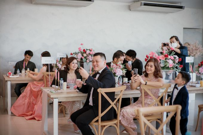 Intimate Wedding Luncheon of Edo & Deasy by Milieu Space - 007