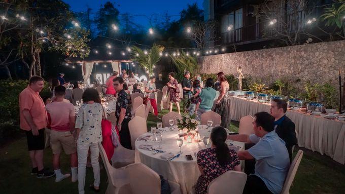 Adeline & Kitt Wedding Reception Dinner by Le Grande Bali Uluwatu - 005