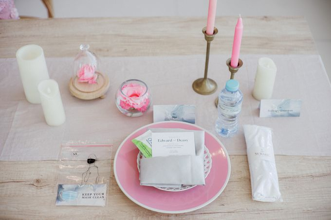 Intimate Wedding Luncheon of Edo & Deasy by Milieu Space - 004