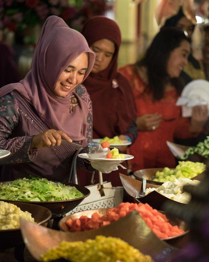 Wedding of Yanda & Arif by Minity Catering - 007