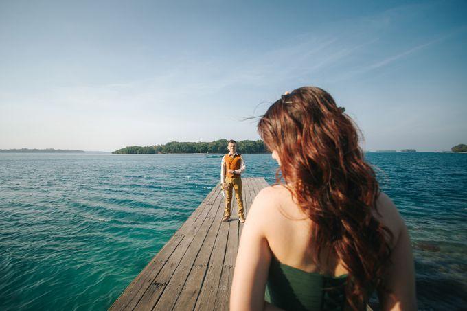 Simon & Ivana prewedding at pulau seribu by GoFotoVideo - 007