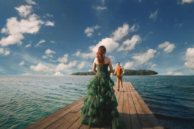 Simon & Ivana prewedding at pulau seribu by GoFotoVideo - 001