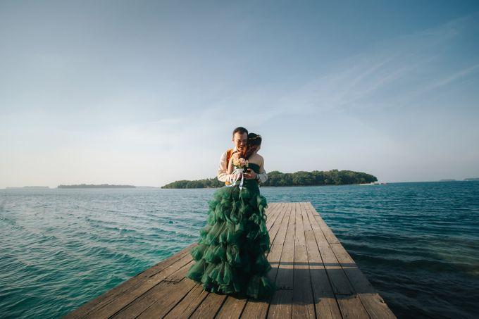 Simon & Ivana prewedding at pulau seribu by GoFotoVideo - 006