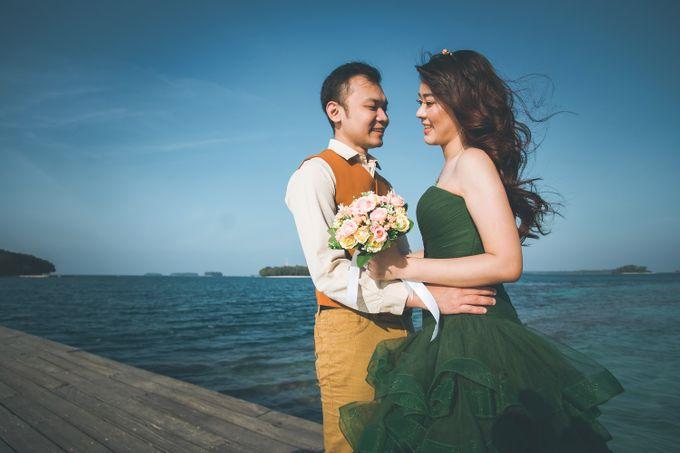 Simon & Ivana prewedding at pulau seribu by GoFotoVideo - 009