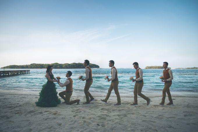 Simon & Ivana prewedding at pulau seribu by GoFotoVideo - 005