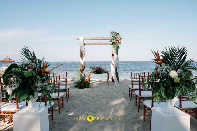 Dan & Hayley Wedding by Holiday Inn Resort Bali Benoa - 001
