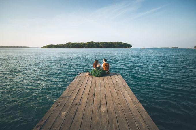 Simon & Ivana prewedding at pulau seribu by GoFotoVideo - 011
