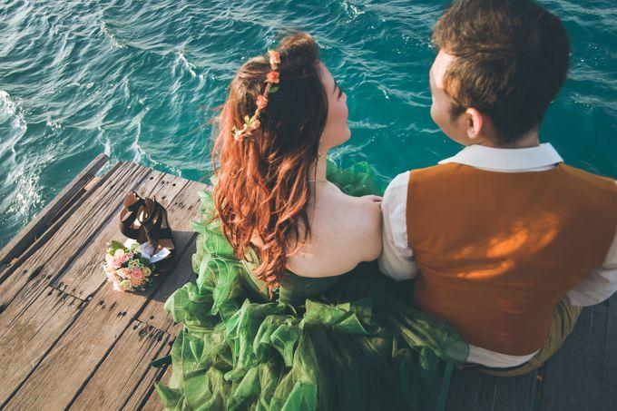 Simon & Ivana prewedding at pulau seribu by GoFotoVideo - 008