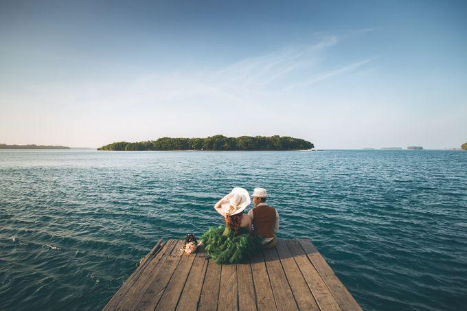 Simon & Ivana prewedding at pulau seribu by GoFotoVideo - 010