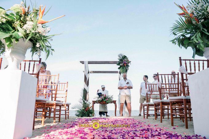 Dan & Hayley Wedding by Holiday Inn Resort Bali Benoa - 002